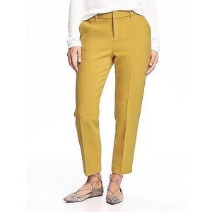 Old Navy Marigold/Mustard Harper Ankle Trouser 2R